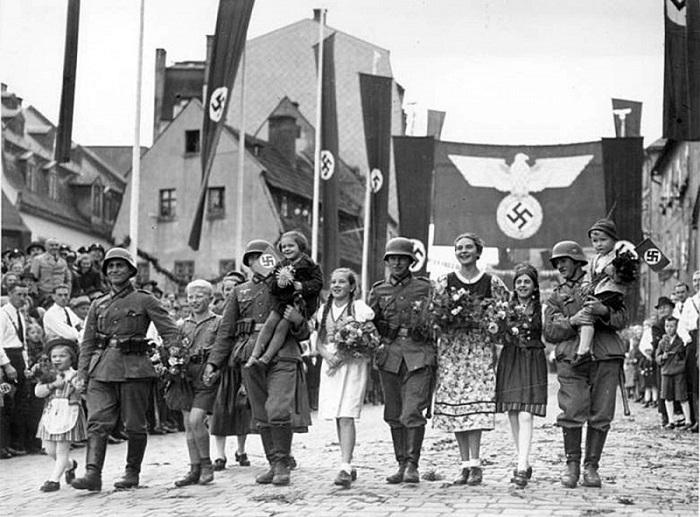 Немцы не оценили дружелюбия чехов.