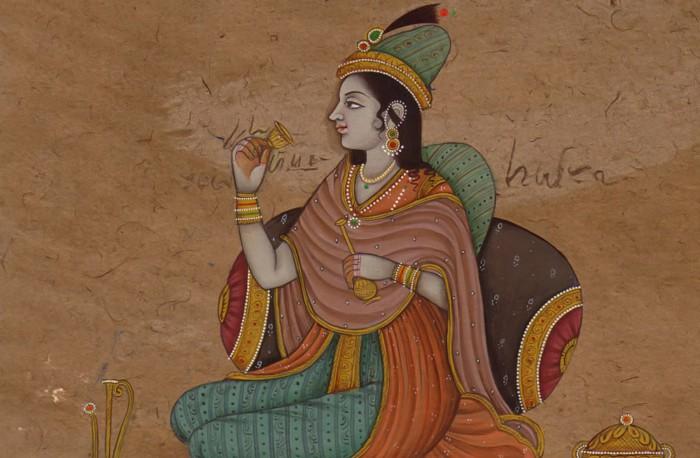 В творчестве поэтессы-шиваистки чувствовалось мусульманское влияние