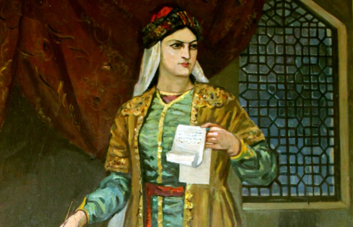 Азербайджанская поэтесса Мехсети Гянджеви