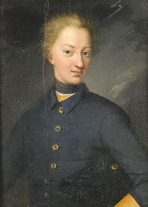 Карл XII до знакомства с фрикадельками.