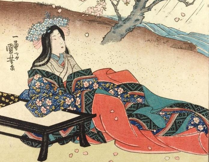 Рисунок Утагавы Куниёси.