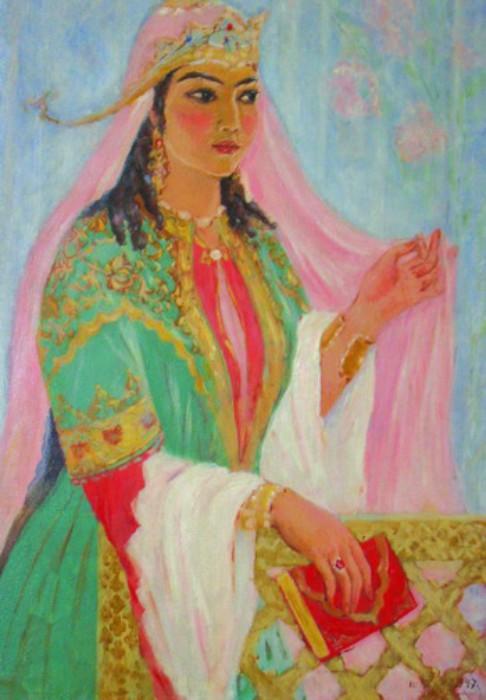 Картина Шамсрой Хасановы