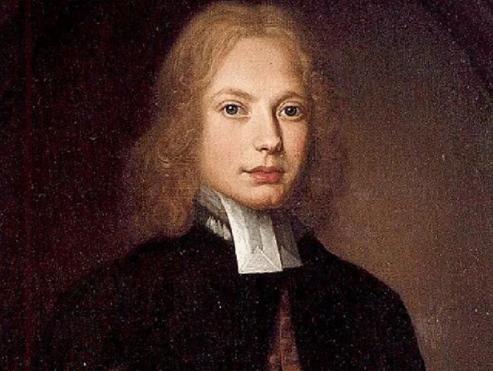 Портрет Свифта в молодости. Портрет кисти Томаса Пули.