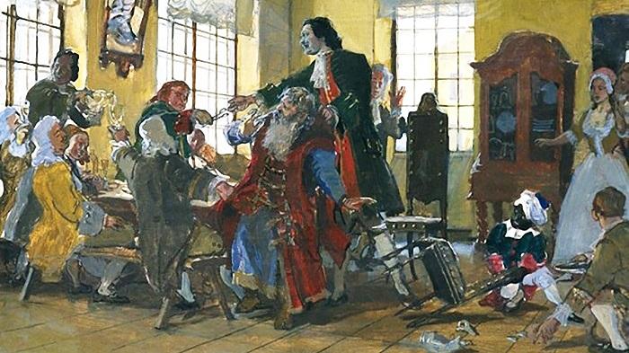 Картина Дмитрия Белюкина.
