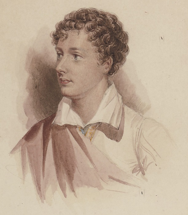 Юный Джордж Байрон.