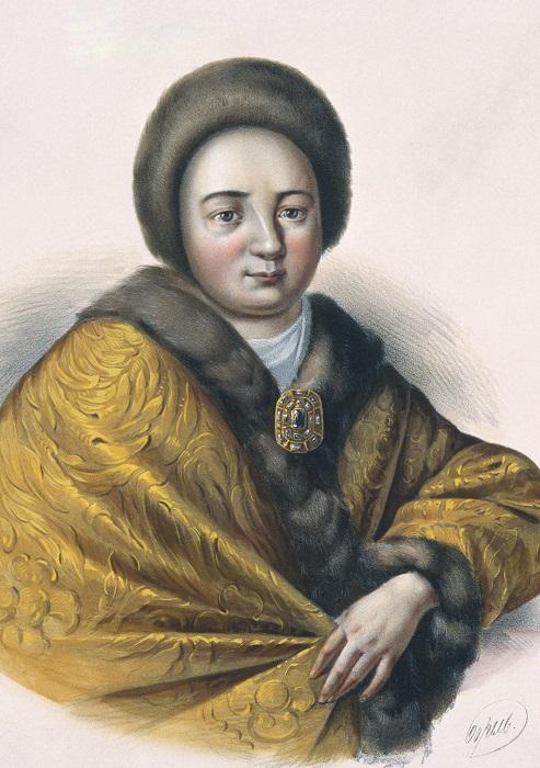 Царь Алексей во всём потакал своей жене Наталье.