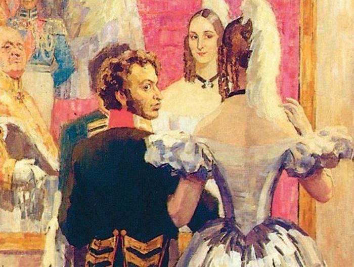 Пушкин очень ревновал Натали, но её саму не оскорблял подозрениями.