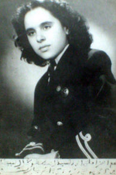 Первая коренная африканка в небе, марокканка Турия Шауи.