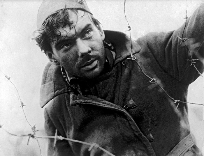 Кадр из фильма «Летят журавли».