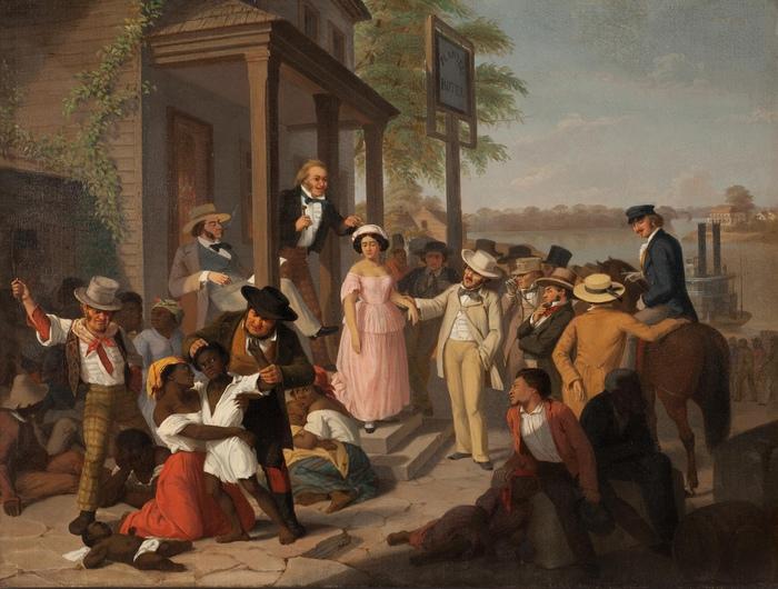 Невольничий рынок. Картина Ж.Л.Жерома.