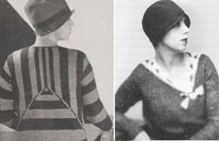 Эльза Скиапарелли и её свитера.
