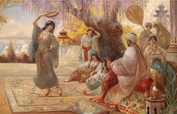Зачем танец живота в гаремах и стыдно ли плясать босиком: мифы и стереотипы вокруг восточных танцев. Картина Стефана Седлачека.
