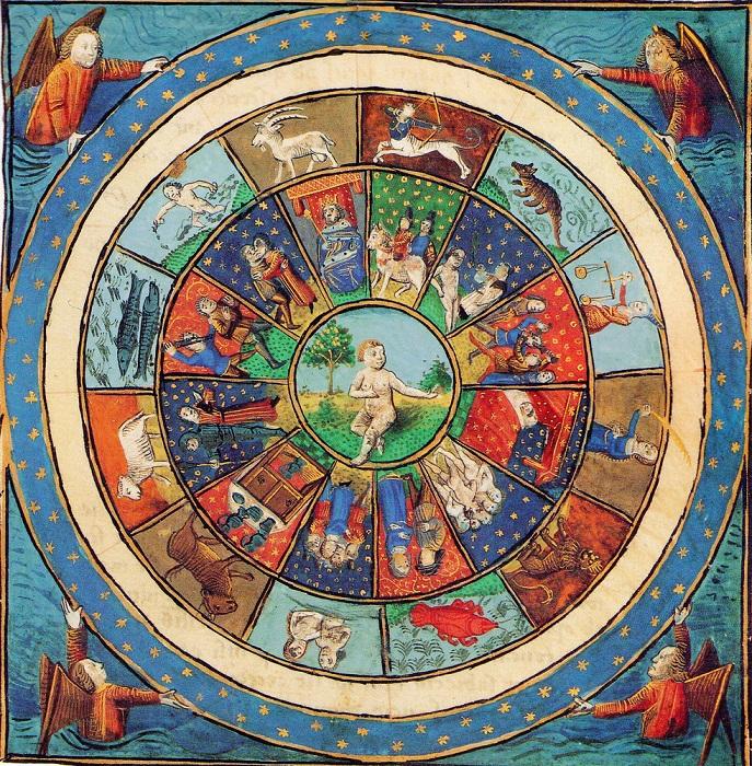 Европейцы издавна увлекались астрологией.
