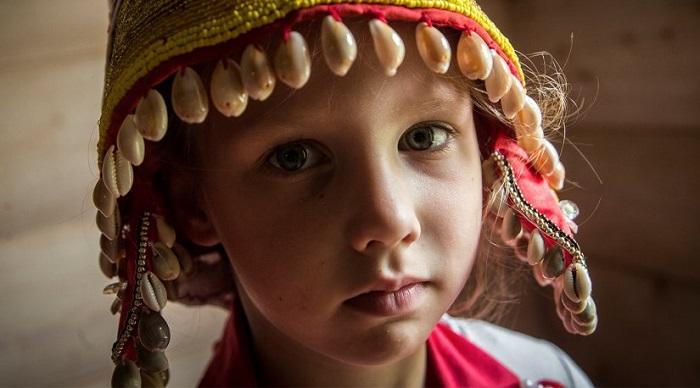 Девочка из народа водь.