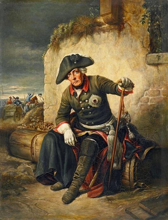 Фридрих глазами художника Юлиуса Шредера.