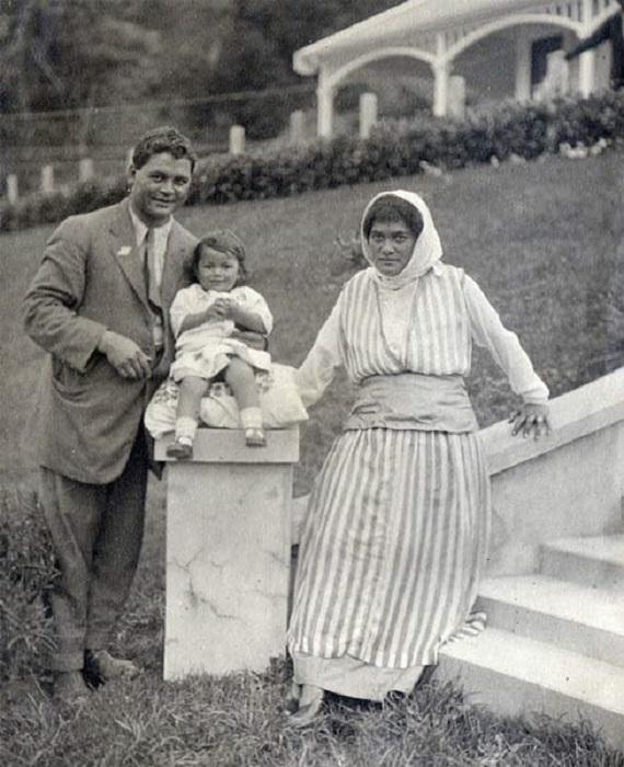 Те Пуэа, фотография 1918 года.