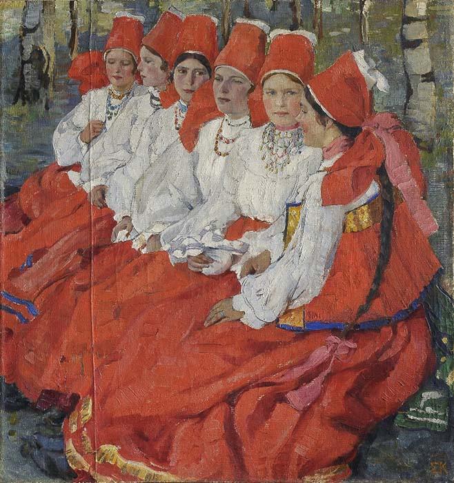 Русские красавицы от Елены Киселёвой