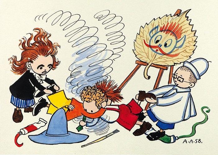 Коротышки нечувствительны к инфекциям, но у них бывают травмы. Иллюстрация Алексея Лаптева.