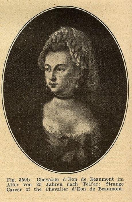 Юная мадмуазель де Бомон.