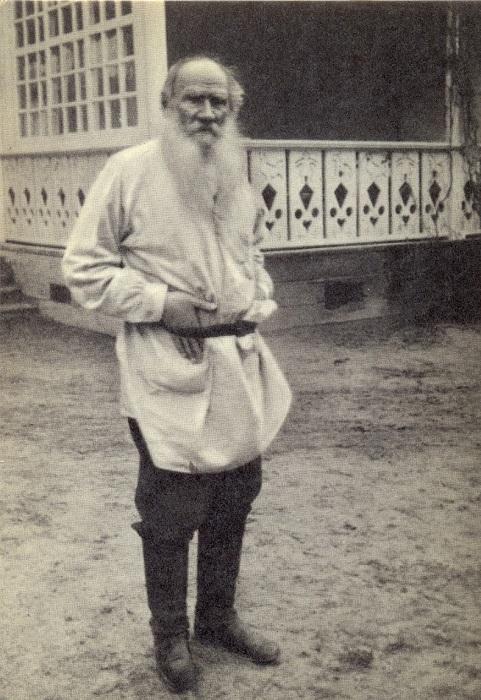 Лев Толстой на склоне жизни.