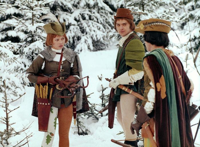 Три орешка для Золушки. Кадр из фильма.