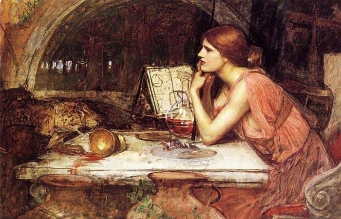 Дьявольские розы у монашек и чёрные мессы Валерия Брюсова: как любовная магия влияла на жизнь и искусство. Картина Джона Уильяма Уотерхауса.