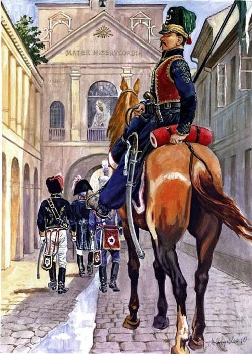 Татарин-улан на службе Наполеону.