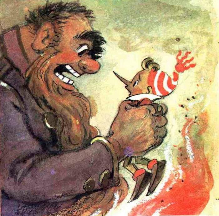Угрозы посторонних взрослых - это страшно, но не возмутительно. Иллюстрация Леонида Владимирского.