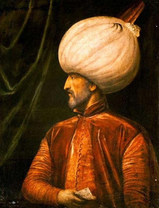 Сулейман Великолепный был одним из современников Ивана Грозного.