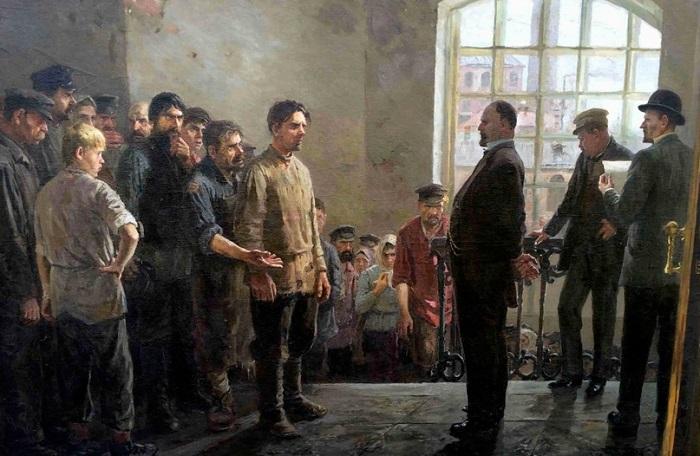Картина Петра Крохоняткина.