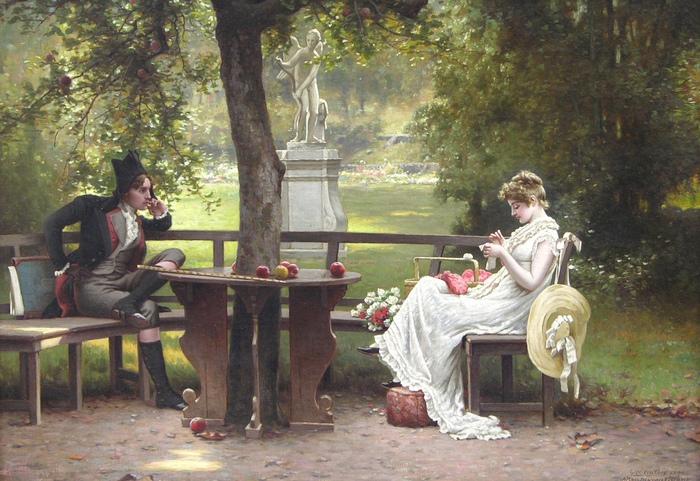 Картина Джорджа Уотерса.