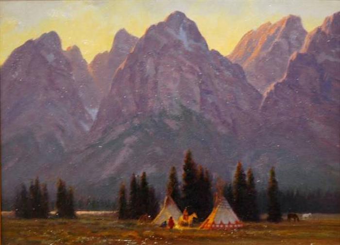 У большинства индейцев уважение друг к другу не считалось обязательным вне узкого кружка воинов. Но и воины часто завидовали и враждовали.  Картина Гэрри Каппа.