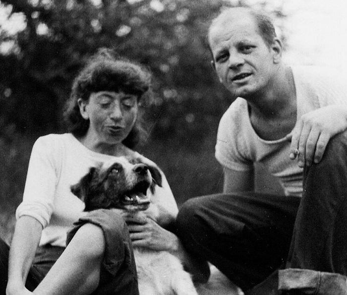 Семейный портрет Краснер и Поллока.