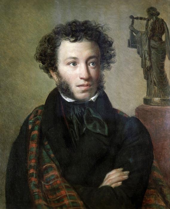Портрет Пушкина кисти Ореста Кипренского.