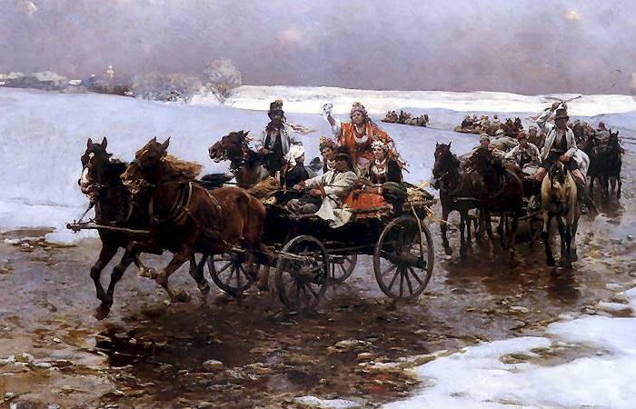 Картина Альфреда Ковальского.