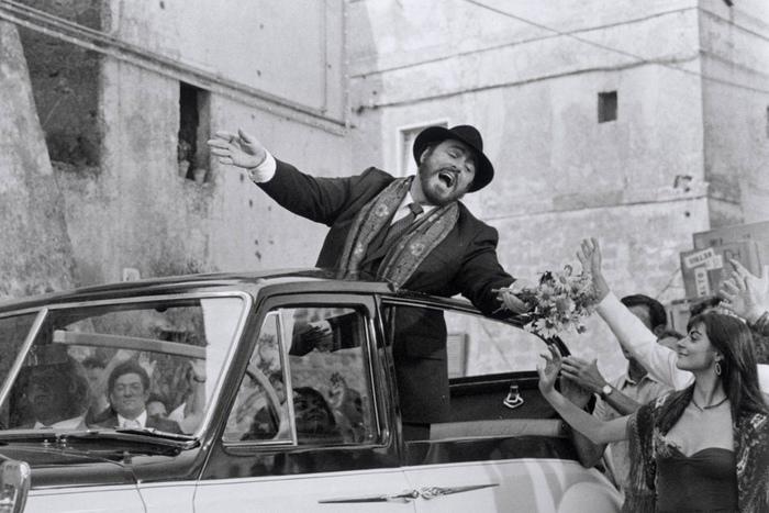 Лучано Паваротти был очень эмоциональным человеком.