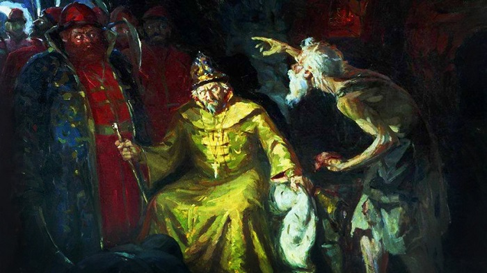 Картина Андрея Рябушкина.
