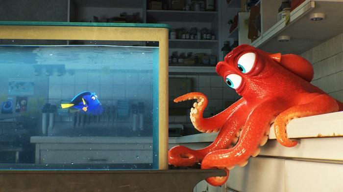 Кадр из фильма «В поисках Дори». Студия Pixar / Disney.