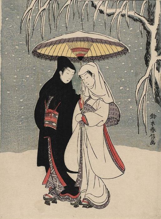 Довольно просто понимание любви не мешало японцам красиво ухаживать за японками.