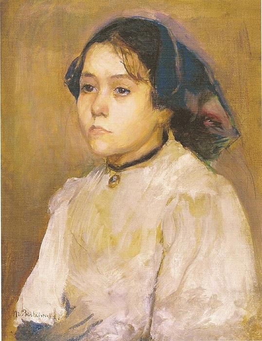 Портрет чешской девочки от Марии Башкирцевой.