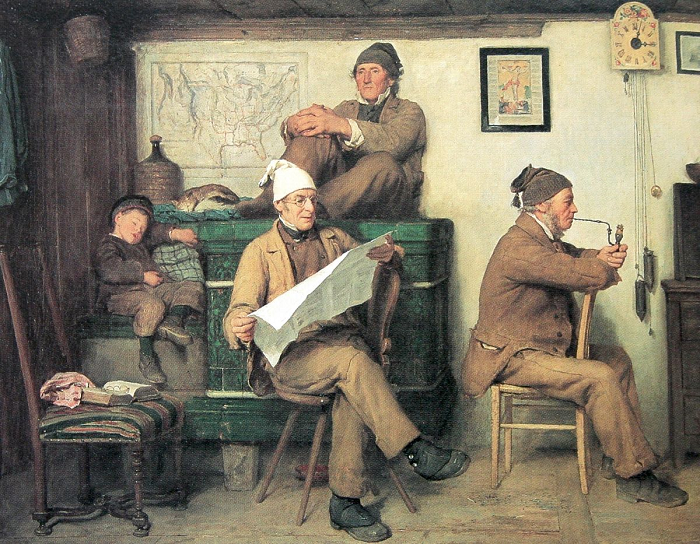 Картина Альберта Анкера.