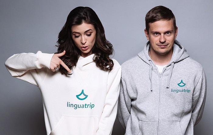 Марина Могилко и Дмитрий Поляко, создатели проекта LinguaTrip. Фотография из соцсетей