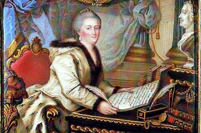 Екатерине Алексеевне хотелось одновременно имиджа прогрессивной государыни и крепкой власти.