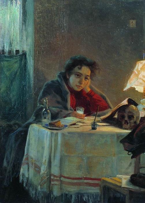 Студентка от художника Мясоедова.
