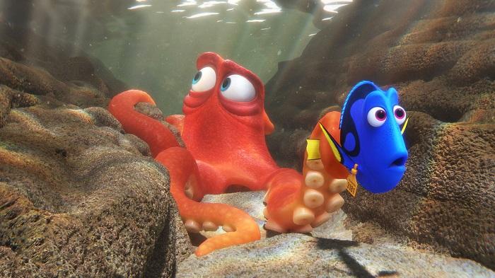 Кадр из мультфильма «В поисках Дори». Студия Pixar / Disney.
