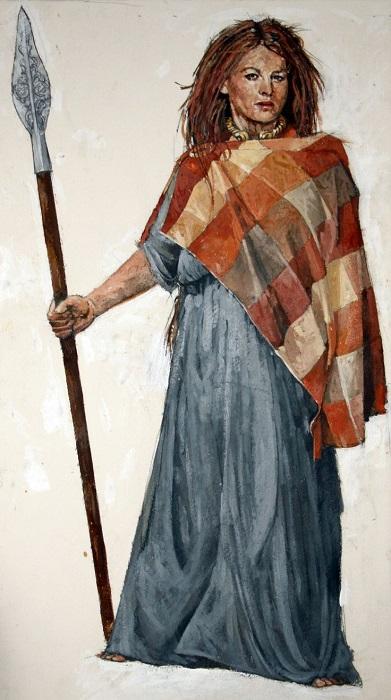 Женщины галлов играли заметную роль и в обществе, и во внешней политике.