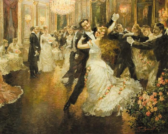 Сейчас вальс считается образцом пристойного парного танца.