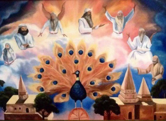 Малак Тавус и шесть ангелов