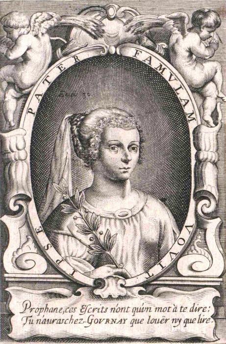 Мари де Гурне считали последовательницей Кристины Пизанской.