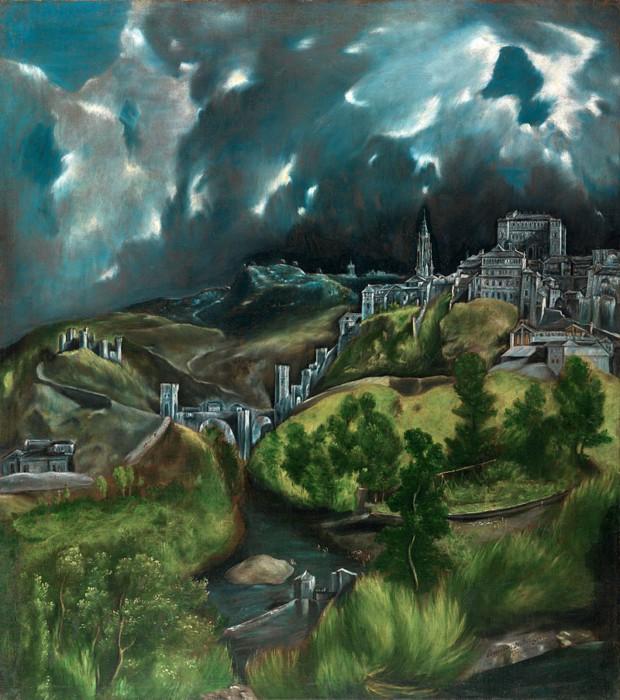 Вид Толедо авторства Эль Греко.